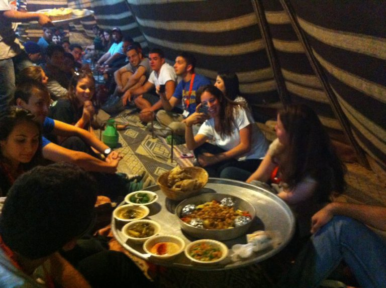 Bedouin hospitality for motorcyclists (Custom)