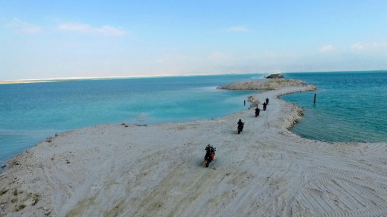 Dead Sea guided motorcycle tour (Custom)