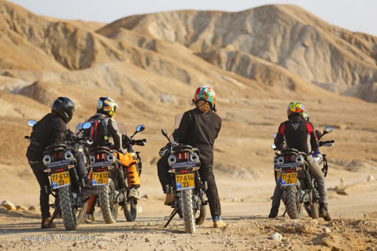 Desert adventure motorcycle rental Israel (Custom)