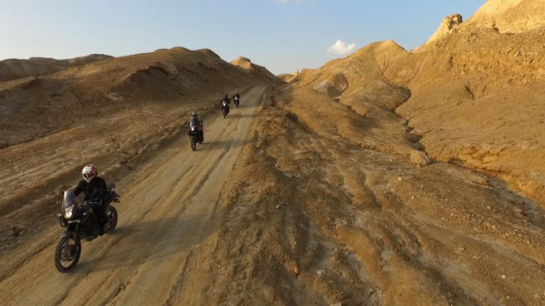 Mt Sodom guided motorcycle tour (Custom)