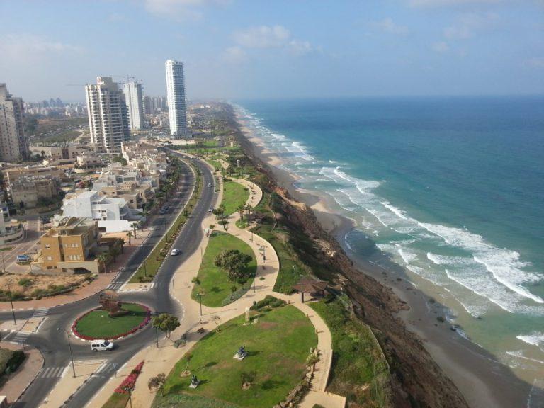Netanya view Med sea (Custom)
