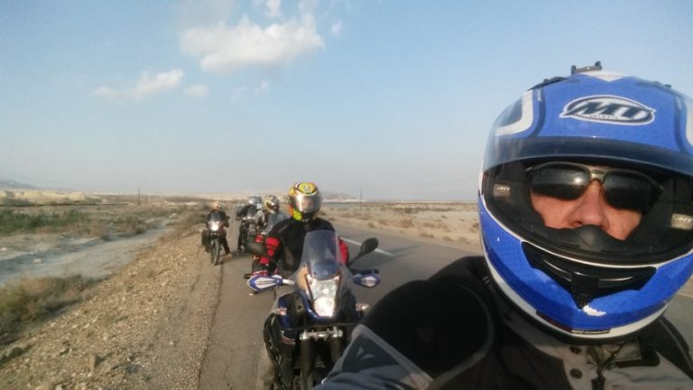 On a Bikelife Israel adventure ride (Custom)
