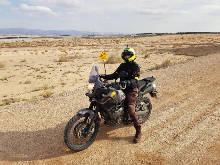 motorcycle touring israel