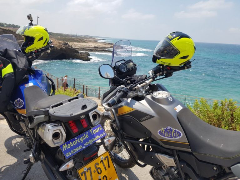 Rosh Hanikra guided motorcycle tour (Custom)